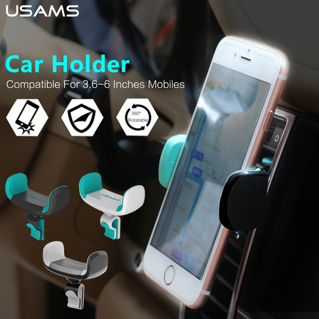 360 Degrees Rotatable Car Phone Holder