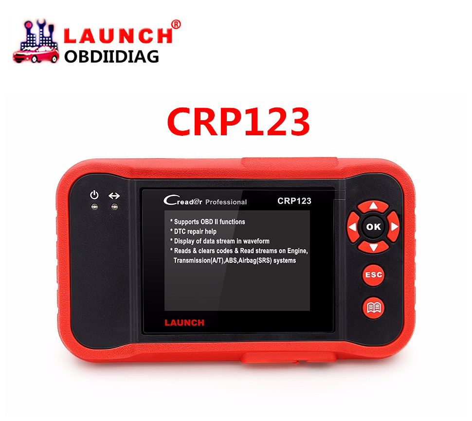 LAUNCH Creader Professional CRP123 Auto Code Reader Scanner As Like LAUNCH Creader 7+