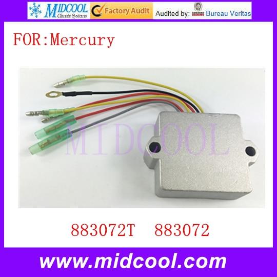 New Voltage Regulator Rectifier 6 Wires OEM 883072T 883072 For Mercury Mariner Outboard