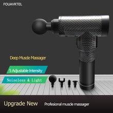 цена на Electronic Muscle Massage Gun Body Massage Relaxation Gun  Pain Relief  Exerciser Body Relaxating Device Deep Body Massage Gun