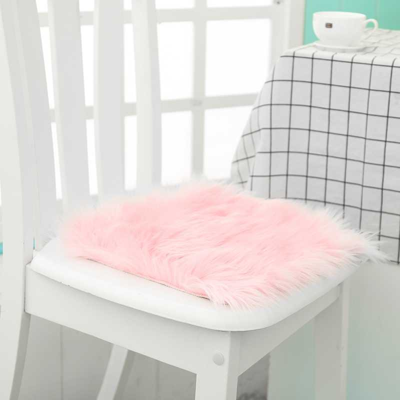 Detail Feedback Questions About Hot Sale Faux Sheepskin Chair Cover