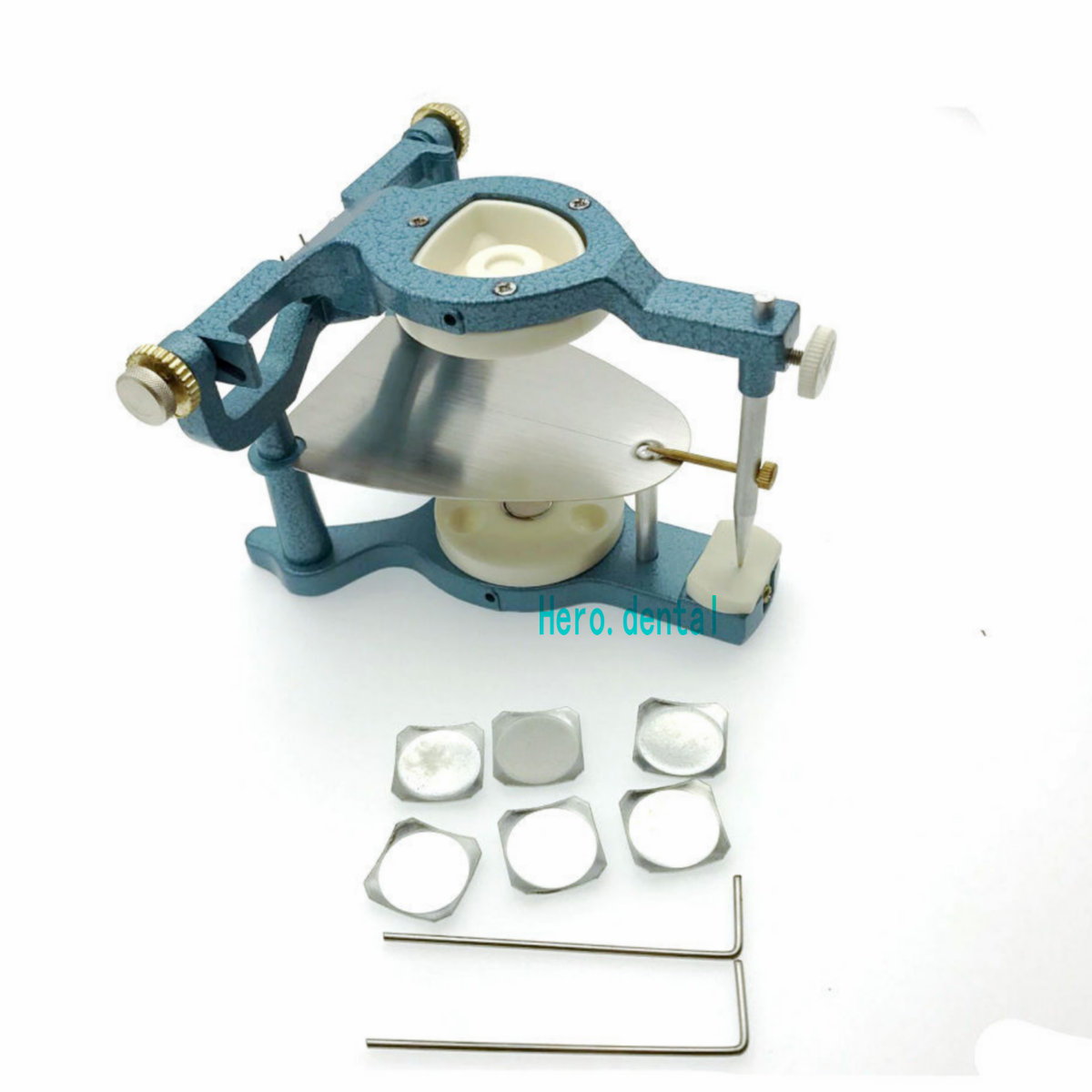 Uso di Laboratorio Dentale dentista Big Regolabile Articulator MagneticoUso di Laboratorio Dentale dentista Big Regolabile Articulator Magnetico