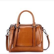 Genuine Leather Women Handbags 2019 Fashion Female Leather Tote Bag Luxury Brand Designer Vintage Women Shoulder Bags Sac A Main цены