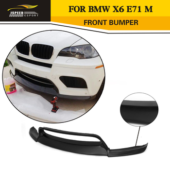 Car Styling FRP Auto Front Lip Apron for BMW E71 X6 M bumper 2008-2014 image