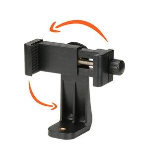 Image 2 - Adaptador de montaje en trípode con Clip para teléfono Ulanzi, soporte Vertical y Horizontal para Disparo de vídeo para iPhone X Samsung One plus