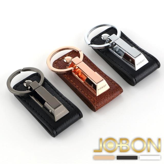 Manball Brand Creative Metal Keychains For Lamborghini Leather Car