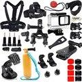 Новые Крепления Водонепроницаемый Чехол Грудь Глава Ремень Велосипед Автомобиль рюкзак Клип Аксессуары для GoPro Go pro Hero 5 Действий камера