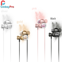 Earphone Headphone With Microphone Volume Control Gaming Aluminum Ear Earbuds For Phone IPhone Computer Universal CinkeyPro