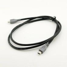 1 pc Mini USB Type B Male Naar Micro B Male 5 Pin Converter OTG Adapter Lead Data Kabel 20 cm/1 M 3FT
