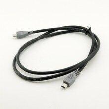 1pc Mini rodzaj usb B męski do mikro B męski 5 Pin Converter adapter otg realizacji kabel do transmisji danych 20 cm/1 M 3FT