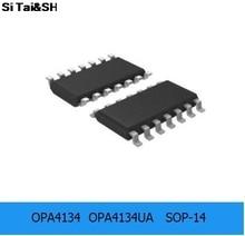 OPA4134  OPA4134UA   SOP-14