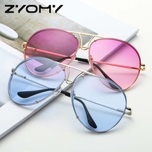 Q Women Sunglasses Oculos de sol Brand Designer Driving Goggle Oversized Glasses