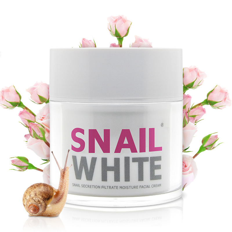 Face Care Cream Thailand Snail White Cream Moisturizing Anti-Aging Cream Acne Anti Wrinkle Day Cream Free Shipping 2014 Hot 1PCS
