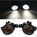 For NISSAN QASHQAI / QASHQAI +2 (J10, JJ10) 2007-2012 Car styling front bumper LED fog Lights high brightness fog lamps 1set