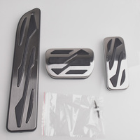 AT Brems Accelerator Fuß Gas Platte Pedal Teile Für Ford Fusion Mondeo MK4 für Lincoln MKZ Stahl Abdeckung Auto Styling