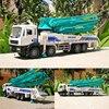 1:50 aluminiowe pojazdy inżynieryjne, wysoka symulacja cementowa ciężarówka z pompą do betonu, zabawki edukacyjne, metalowe diecasts, bezpłatna wysyłka