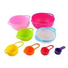 Marke Hohe Qualität 8 Stücke in einem Set Multicolor Kreative Geschirr Set Küche Bowl kitchen Tool Set Freies Verschiffen
