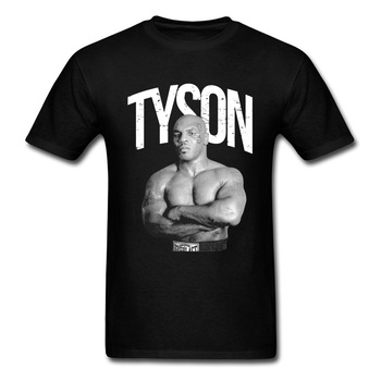 Iron Mike Tyson T-shirt For Man MMA Fighter T Shirt Mens 3D Clothing Classic Black Tshirt Hip Hop Tees Cotton Tops Cool