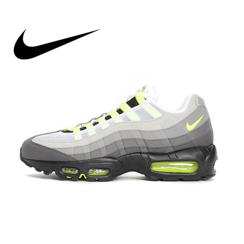 NIKE Air Max 95 OG Original hommes chaussures de course maille respirant baskets pour hommes chaussures Sport extérieur chaussures Designer 554970