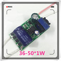 5pcs (36~50)*1W 300ma,AC180~260v High power Driver For LED Lamp Light Constant Current Driver Power Supply