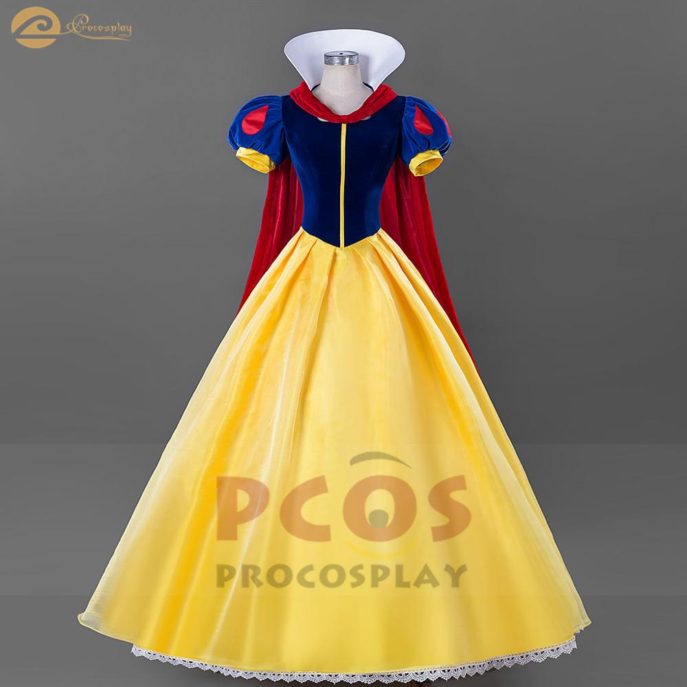 Snow White and the Seven Dwarfs snow white classical dress Cosplay Costume mp004784