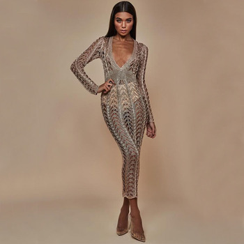 8180bb798fb8 Vestido sexy de mujer de MUXU elegante negro brillo vestidos de mujer de  fiesta jurken sukienka moda ...