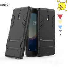 все цены на For Nokia 2.1 2018 Case Silicone + Plastic Kickstand Anti-knock Case For Nokia 2.1 2018 Cover For Nokia 2.1 2018 TA-1084 TA-1080