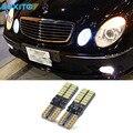 2 шт. Canbus T10 W5W 24SMD 4014 LED Парковка Свет Боковой Свет Для Mercedes Benz W124 W202 W203 W210 W220 W204 W211 W222 X204 W164