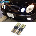 2pcs Canbus T10 W5W 24SMD 4014 LED Parking Light Sidelight For Mercedes Benz W202 W220 W204 W203 W210 W124 W211 W222 X204 W164