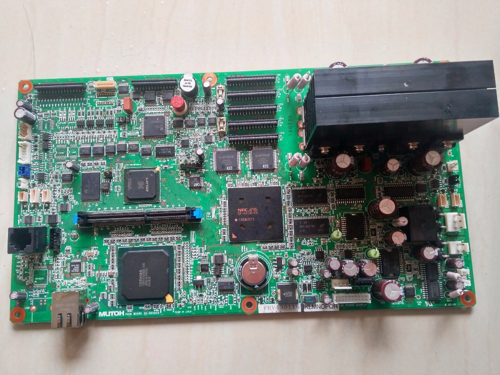 Original Mutoh VJ-1324 / VJ-1624 / VJ-1624W Main Board DG-42958 телевизоры led в vj bkfr