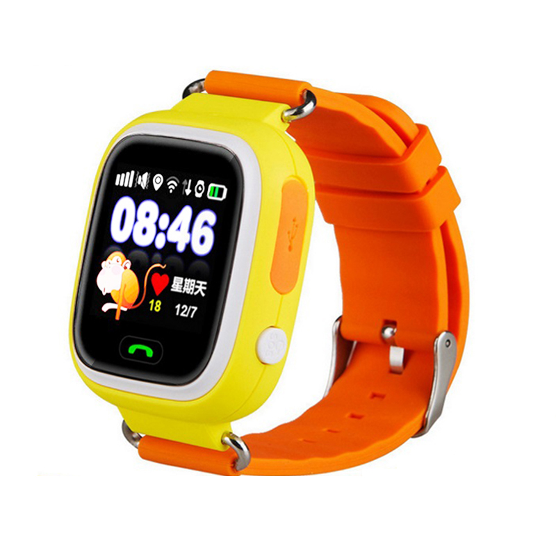 New 1.22inch GPS Child Smart Watch Kids Children Watch CLOCK SOS Call GPS WIFI Location Tracker With Touch Screen