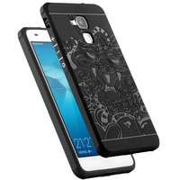 Luxury Protector 3D Carved Dragon High Quality Soft Silicone Shell Cover For Huawei Honor 5C Honor