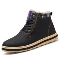 Spring Autumn Boots Men Suede Leather Unisex Style Fashion Male Work Shoes Boots