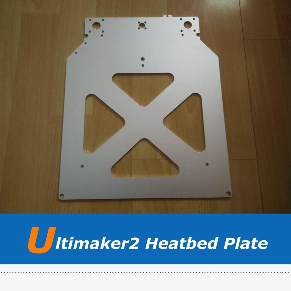 Ultimaker 2 pièces d'imprimante 3D UM2 Z Table plaque chauffante en aluminium