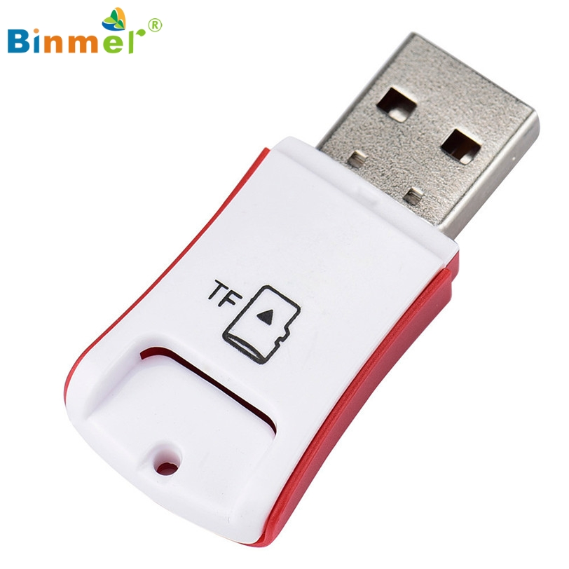 Memory Card Reader Adapter Mini USB 2 0 Micro SD TF T Flash High Speed Feb17