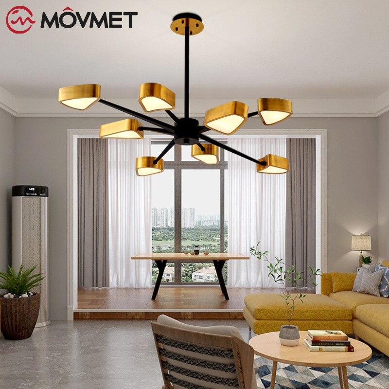 Modern Spark Lustre G9 Led Chandelier Matte Black Gold Ceiling Lamp For Bedroom Indoor Lighting Luminaria Lamparas