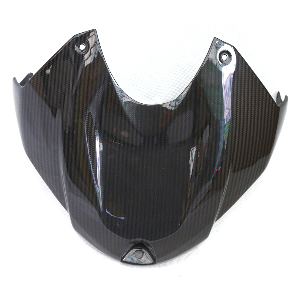 Motorcycle Accessories Carbon Fiber Front Tank Cover Top Front Gas Tank Cover Fairing For BMW S1000RR 2015-2017 S1000R 2014-2015 carbon fiber front fog light cover for bmw e46