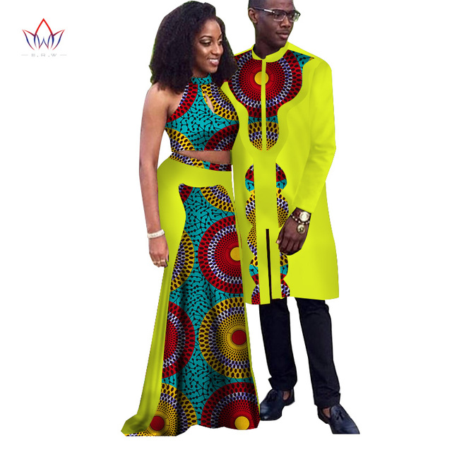 5ea715b00f8b9 Africa Style Couple Clothes New Fashion Spring 2018 African Dresses for  Sweet Lover Dashiki Plus Size Africa Clothing WYQ67