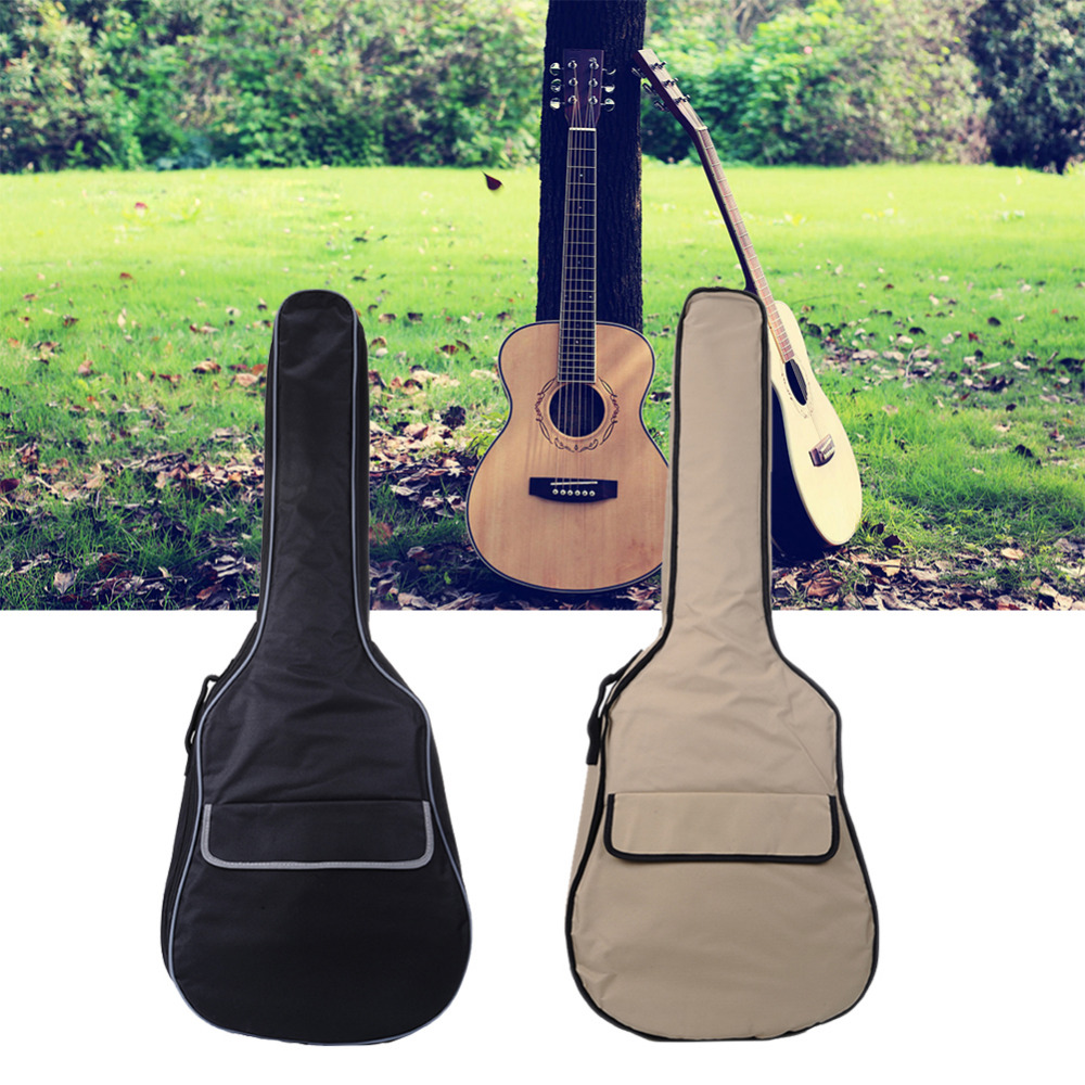 34-36,38-39 inch Guitar Bag Guitar Backpack Traditional Canvas 600D Cotton 0.8cm (no packaging) Support Wholesale With Discount 12mm waterproof soprano concert ukulele bag case backpack 23 24 26 inch ukelele beige mini guitar accessories gig pu leather