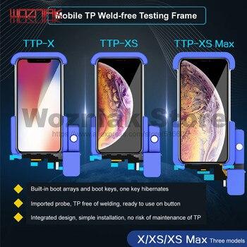 JC TTB-X آيفون X XS XSMAX الهاتف المحمول TP اختبار الرف لا لحام شاشة LCD تعمل باللمس لاعبا اساسيا