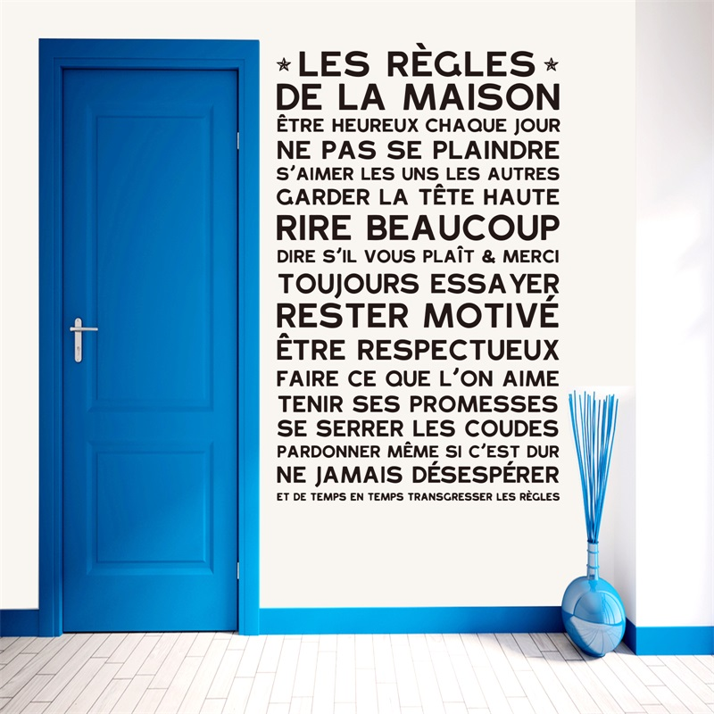 Buy Wall Stickers French Quotes And Get Free Shipping On AliexpressCom