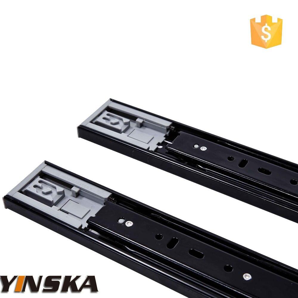 Kitchen cabinet drawer slide types - Hettich Type Cabinet Plastic Drawer Slide Runner