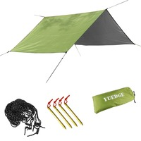 YUEDGE Brand 3 3m Easy Set Up Portable Waterproof Windproof Camping Tent Shelter Sunshade Rain Tarp