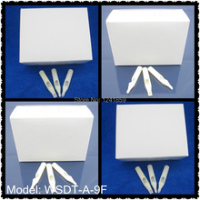 50pcs Flat Magnum 9 White Short Disposable Tattoo Tip Nozzle FT9 Supply WSDT-A-9FF