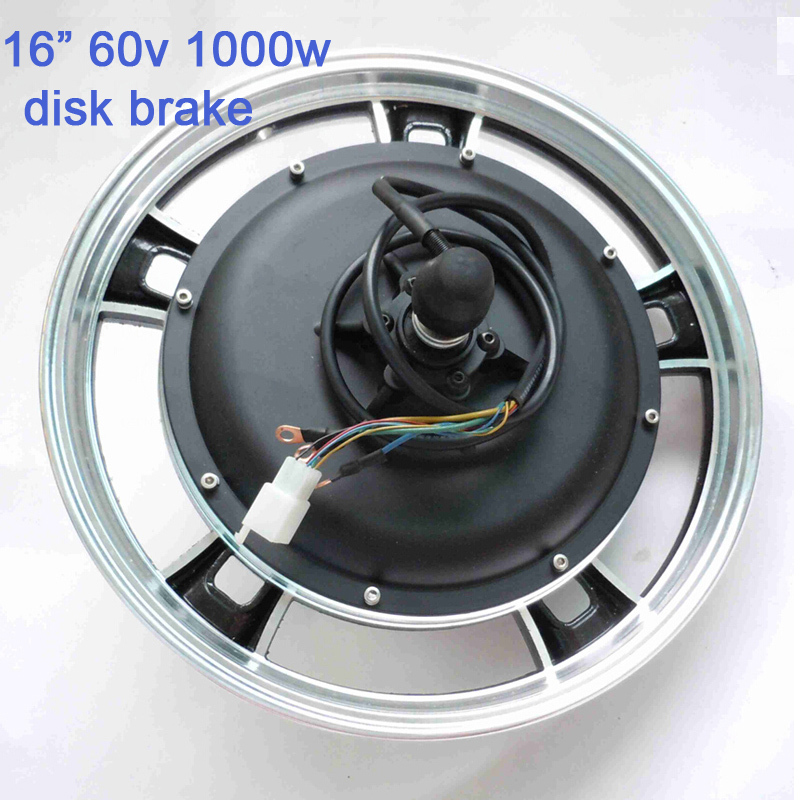16inch 60v 1000W e-bike /electric scooter brushless disc brake speed hub motor G-M042 - Suzhou SND Zhenlong Motor Co. Ltd store
