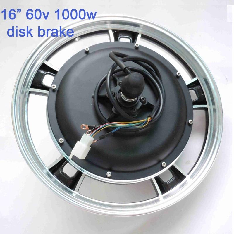 16inch 60v 1000W e-bike /electric scooter brushless disc brake speed hub motor G-M042  -  Suzhou SND Zhenlong Motor Co. Ltd store