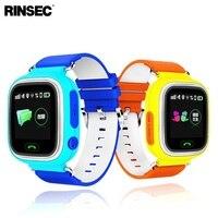Q90 Garoto GPS Relógio Inteligente Crianças Anti-Perdido Relógio com WIFI Tela Sensível Ao Toque de Chamada SOS Localização Rastreador Dispositivo Bebê Monitor de seguro