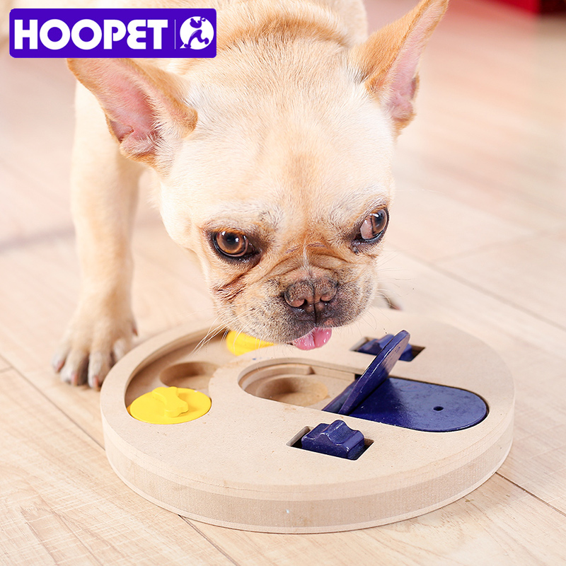 HOOPET Pet Dog Cat Educational Toy Resistance to Bite Chew Food Toy Interactive Puzzle
