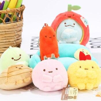 Плюшевые японские игрушки брелоки Sumikko Gurashi в ассортименте