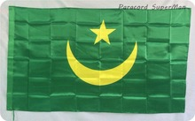 Mauritania 3ft x 5ft Hanging Flag Polyester Mauritania national flag Banner 150x90cm for Celebration big flag